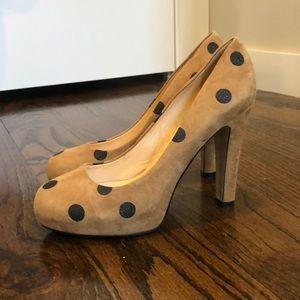 Kate Spade Polka Dot heel